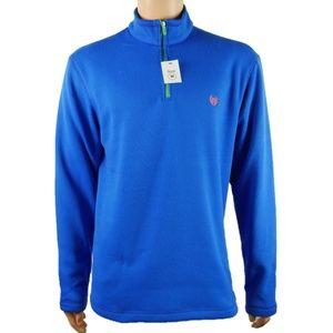 Nwt! Chaps Ralph Lauren Sport 1/4 Zip Sweater Sz M